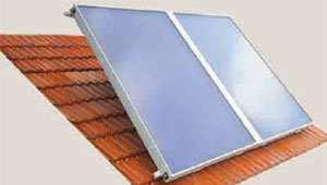 Roof Hooks for Solar Collector Mounting